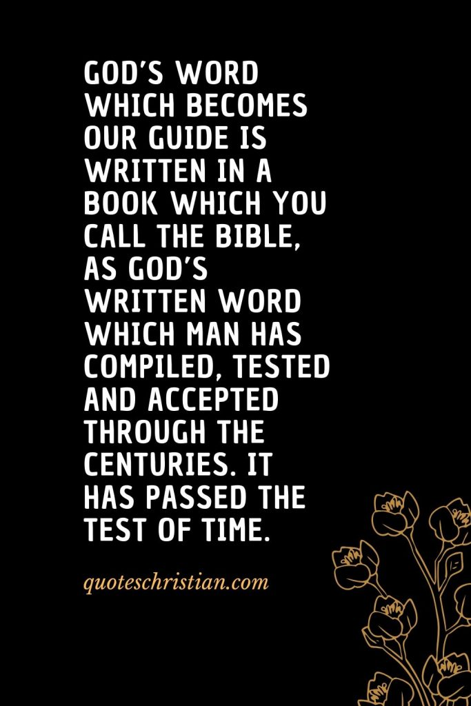 Quotes about the Bible (17)