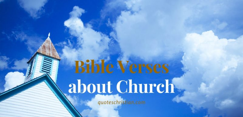 Bible Verses about Church