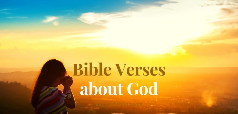 Bible Verses about God