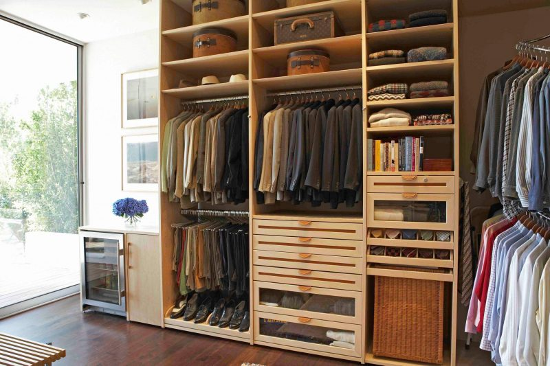 All in one closet unit