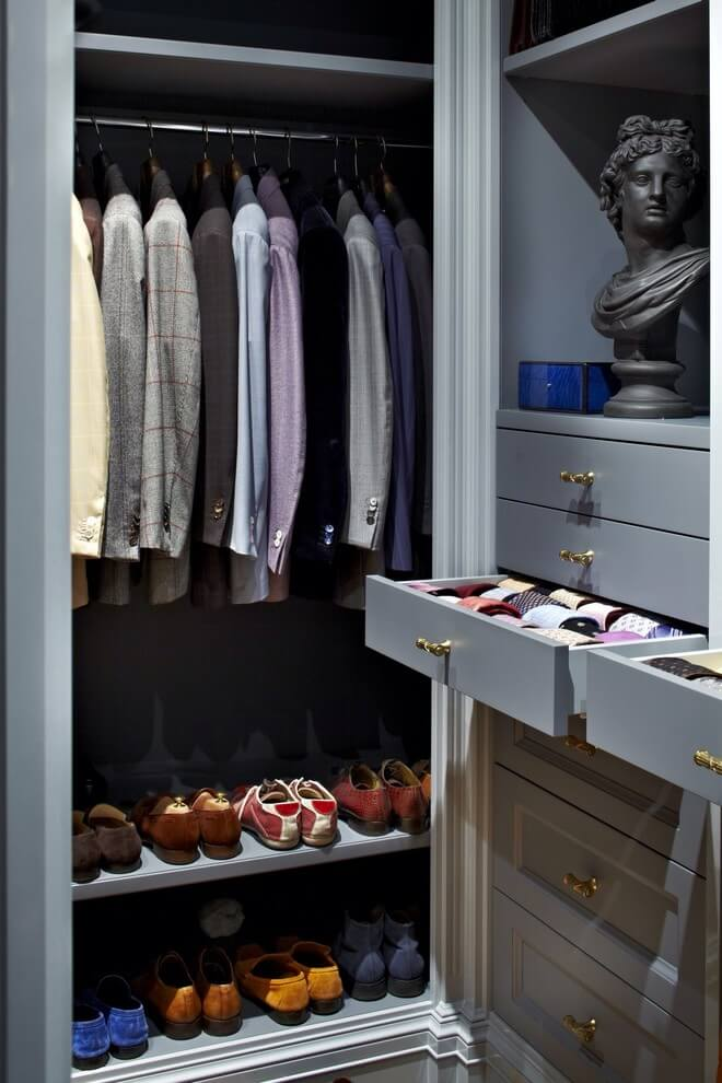 Closet Integrated drawers