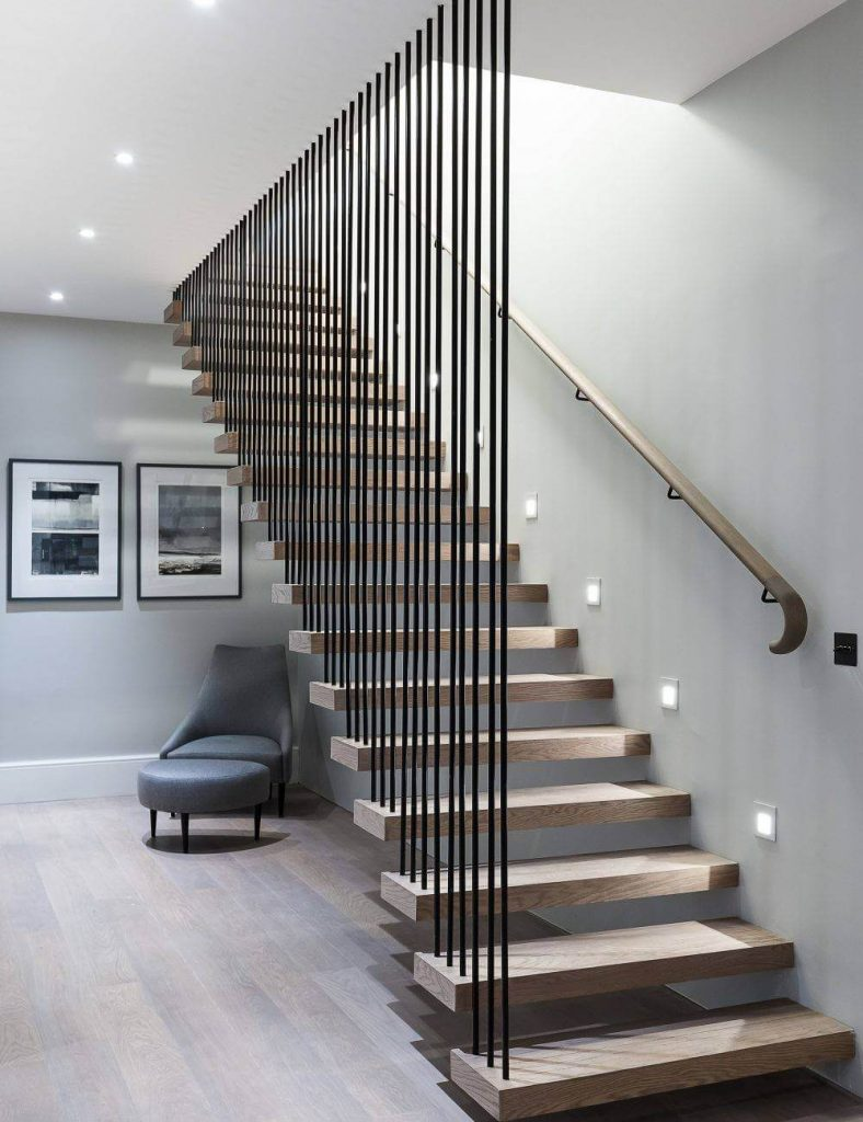 Contemporary Staircase, Cornwall