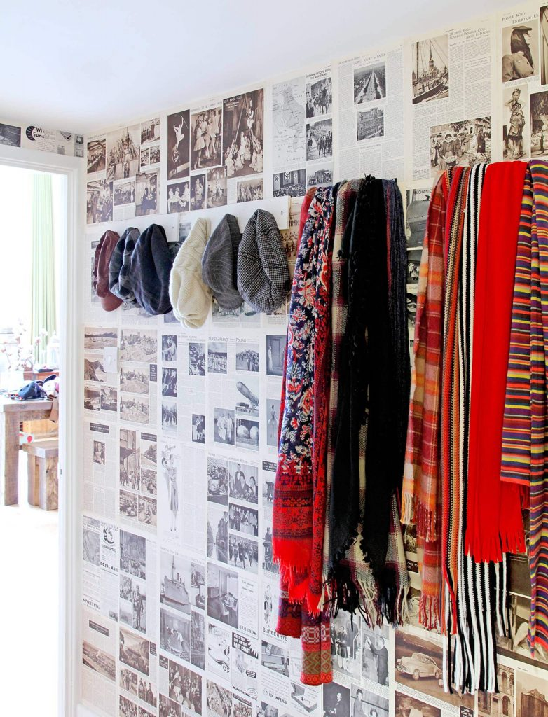 Hats and scarves Organizing Ideas