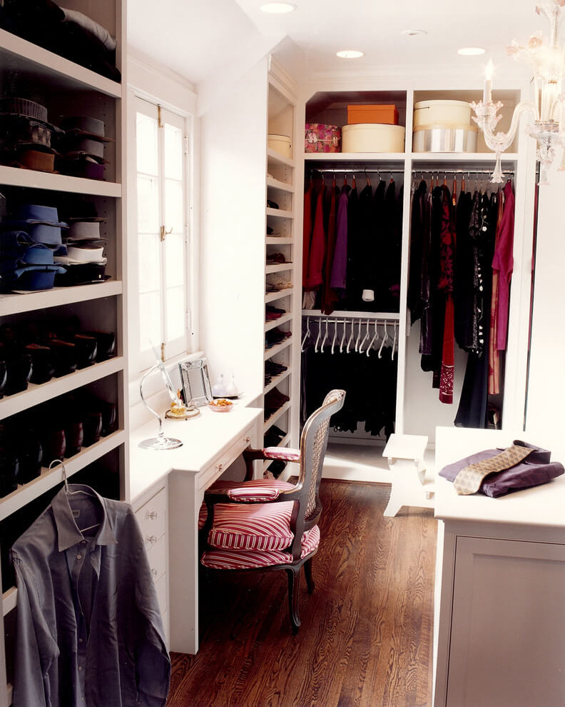 Ohio closet gets cozy