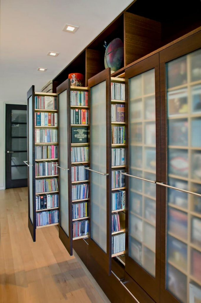 Phoenix home's hidden media storage