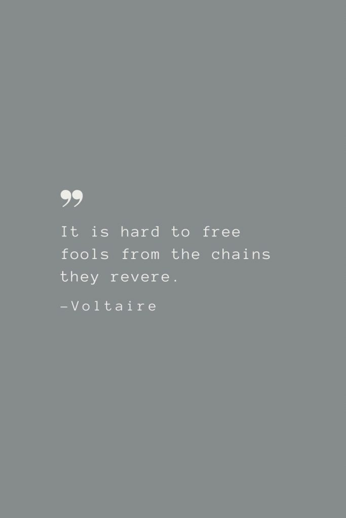 169 Famous Voltaire Quotes Witty And Enlightening