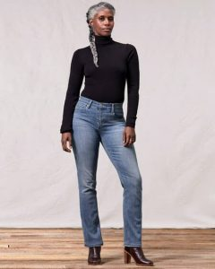 The Best Straight Leg Jeans For Big Thighs