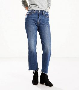 Wedgie Fit Straight Jeans in Lasting Impression
